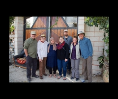 homestay with Remah Abbas and her husband Ahmid. Burkin, Palestine. 56690