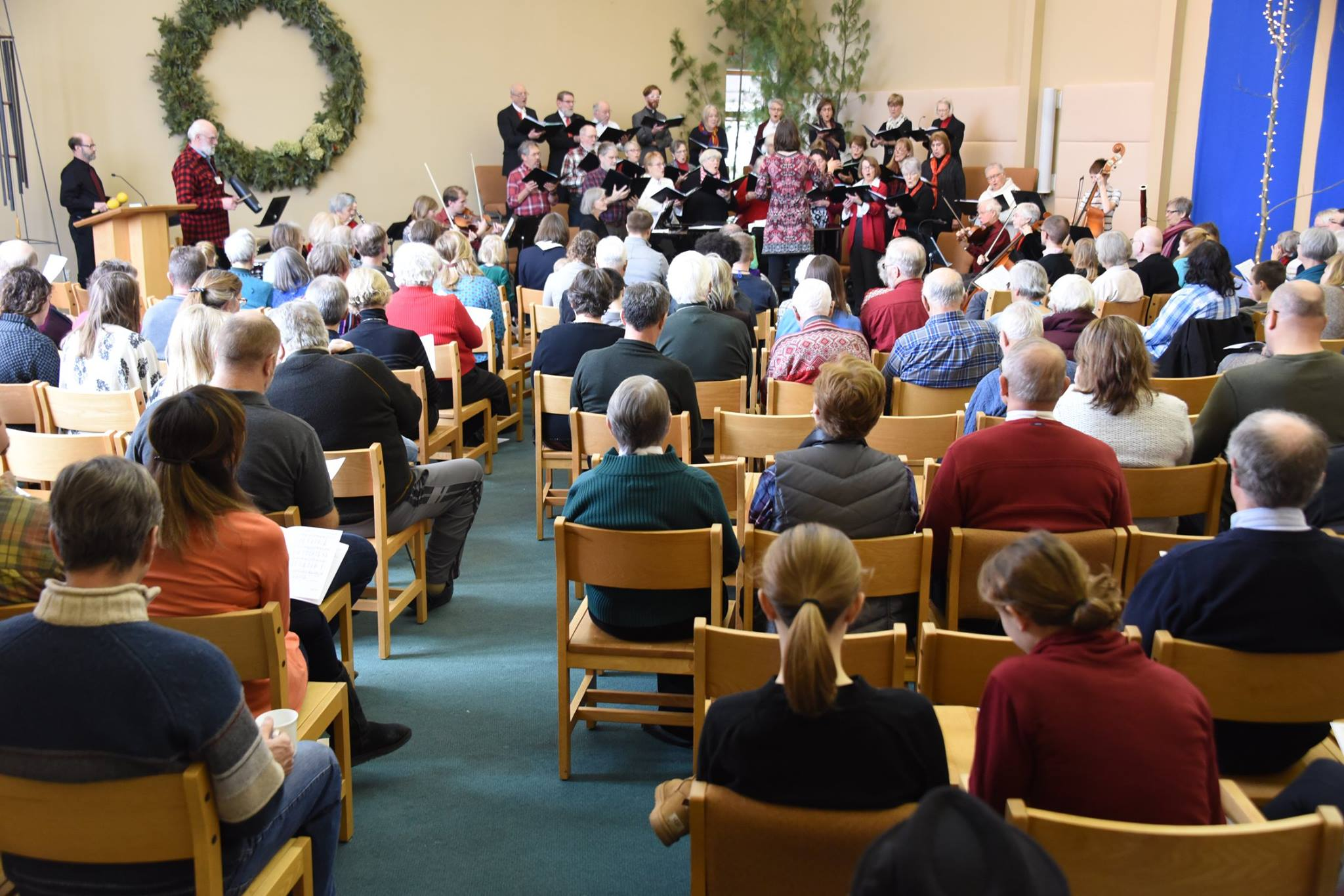 Epiphany Choir in Worship January 2018