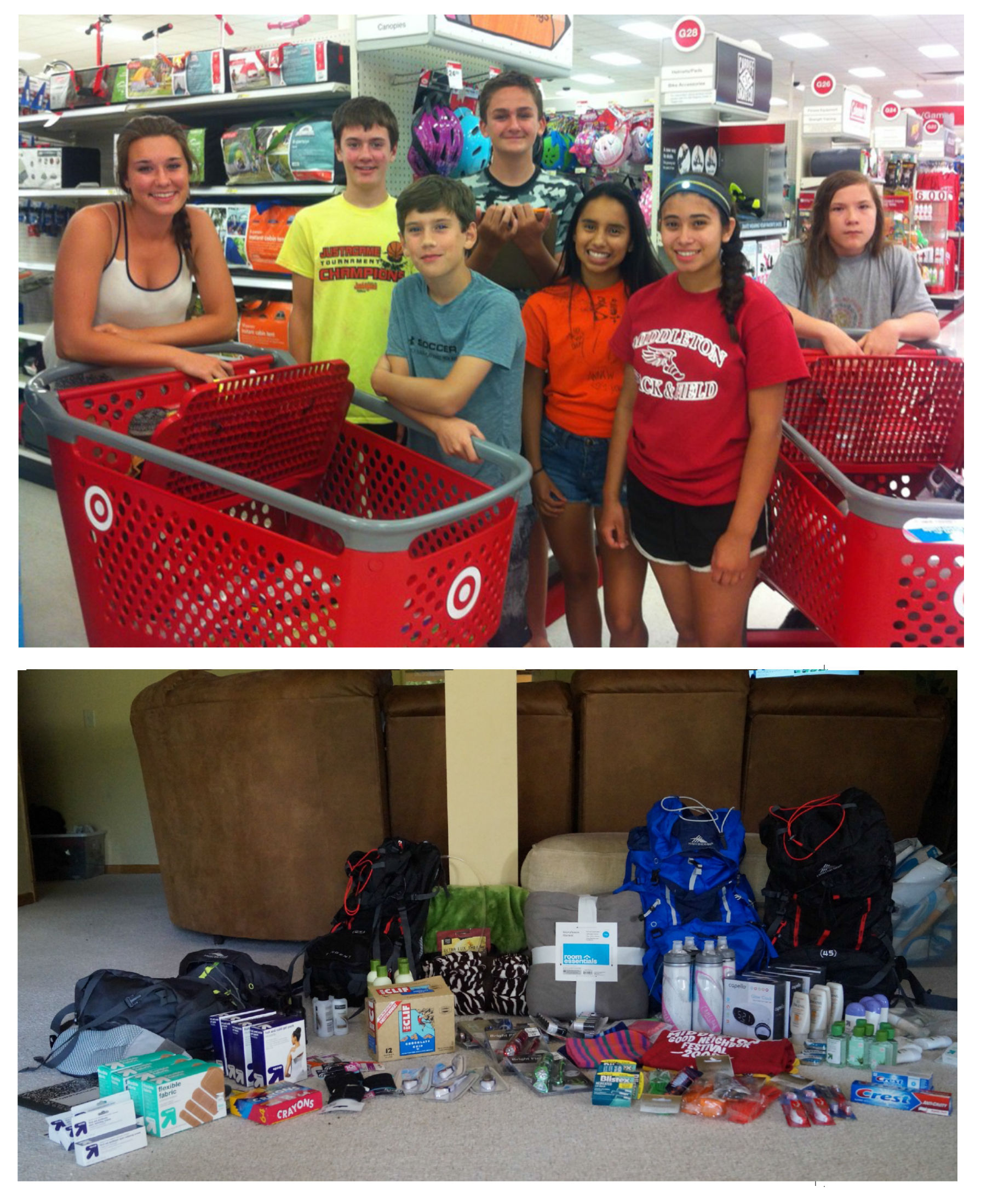 MCC Youth Fundraise for School Supplies